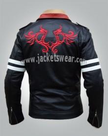 Black Dragon on Back Jacket