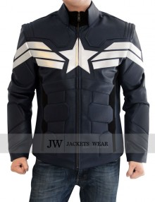 Captain America Winter Solider Jacket PU