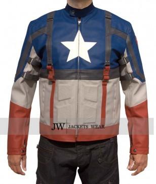 First Avenger Captain America Jacket