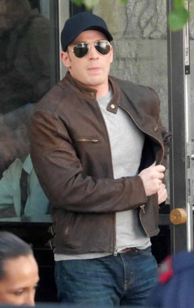 Civil WarSteve Rogers Brown jacket