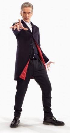 Doctor Who Peter Capaldia Dark Blue Coat