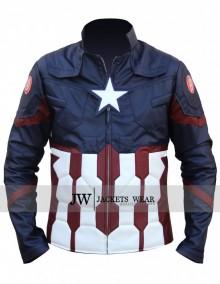 Civil War Captain America Jacket