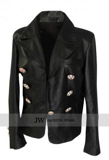 Kim Kardashian Paris Black Jacket