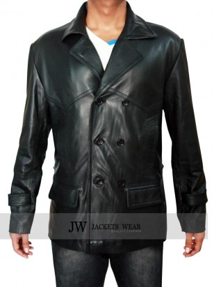 Doctor Who Coat Real Leather Jacket